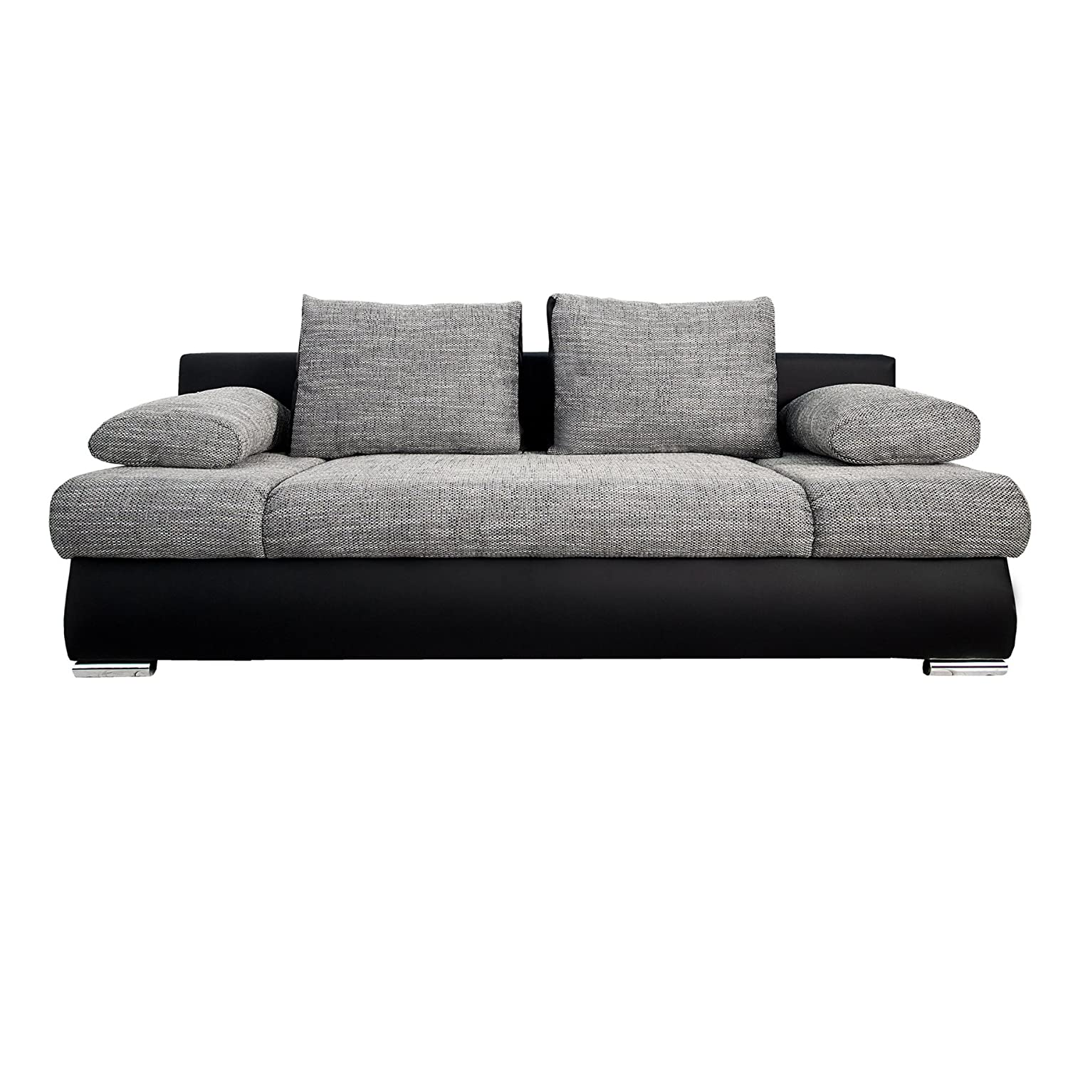 schlafsofa mit bettkasten 140 200. Black Bedroom Furniture Sets. Home Design Ideas