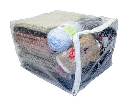 Oreh Homewares - Bolsas de almacenamiento de vinilo con ...