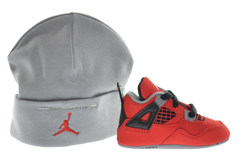 sports shoes 0256c adc7e Amazon.com | Jordan 4 Retro (GP) Infants Shoes Gift Pack ...