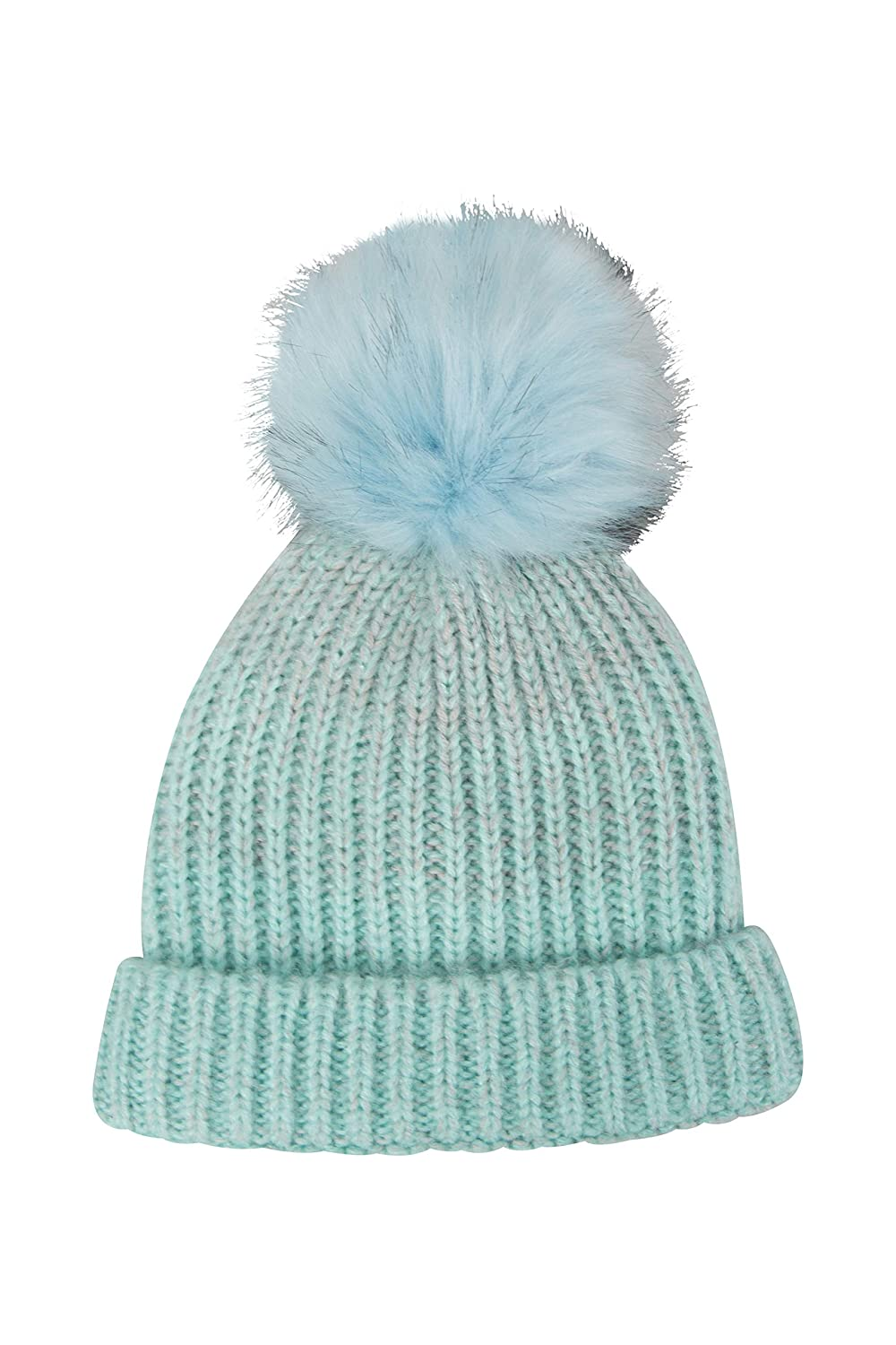 Pom Pom Hat Camping Warm Cap Travelling Stylish Mountain Warehouse Fluff Bomb Kids Beanie Lightweight Headwear Childrens Winter Accessory for Outdoor