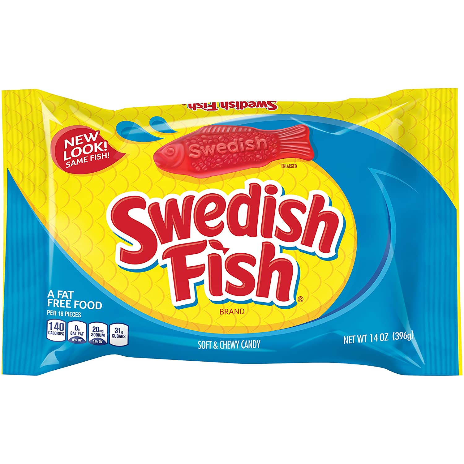 Swedish Fish Soft Chewy Candy Original 14 Ounce