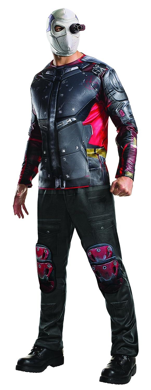 Disfraz oficial para adultos del Escuadrón Suicida de Deadshot de Rubie s  (XL)  Amazon.es  Juguetes y juegos 2efbc51c7ed