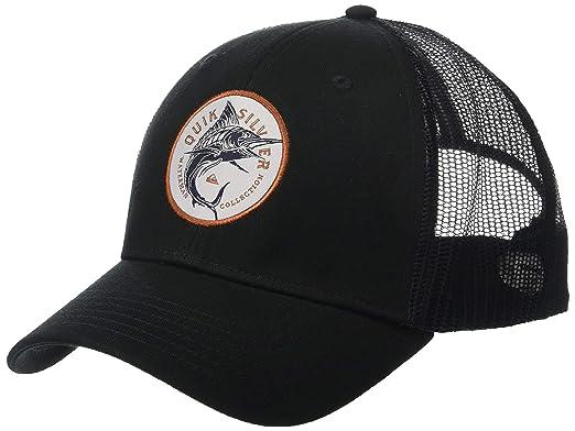 the best attitude 512b6 2eeb9 Quiksilver Waterman Men s Fish Hugger Trucker Hat, Black 1SZ