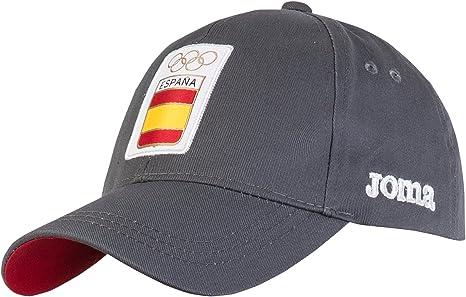 Joma CE.518011.16 Gorra, Hombre, Gris, SR: Amazon.es: Deportes y ...