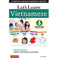 Let's Learn Vietnamese Ebook: A Complete Language Learning Kit for Kids (64 Flashcards, Audio download, Games & Songs & Learning Guide)