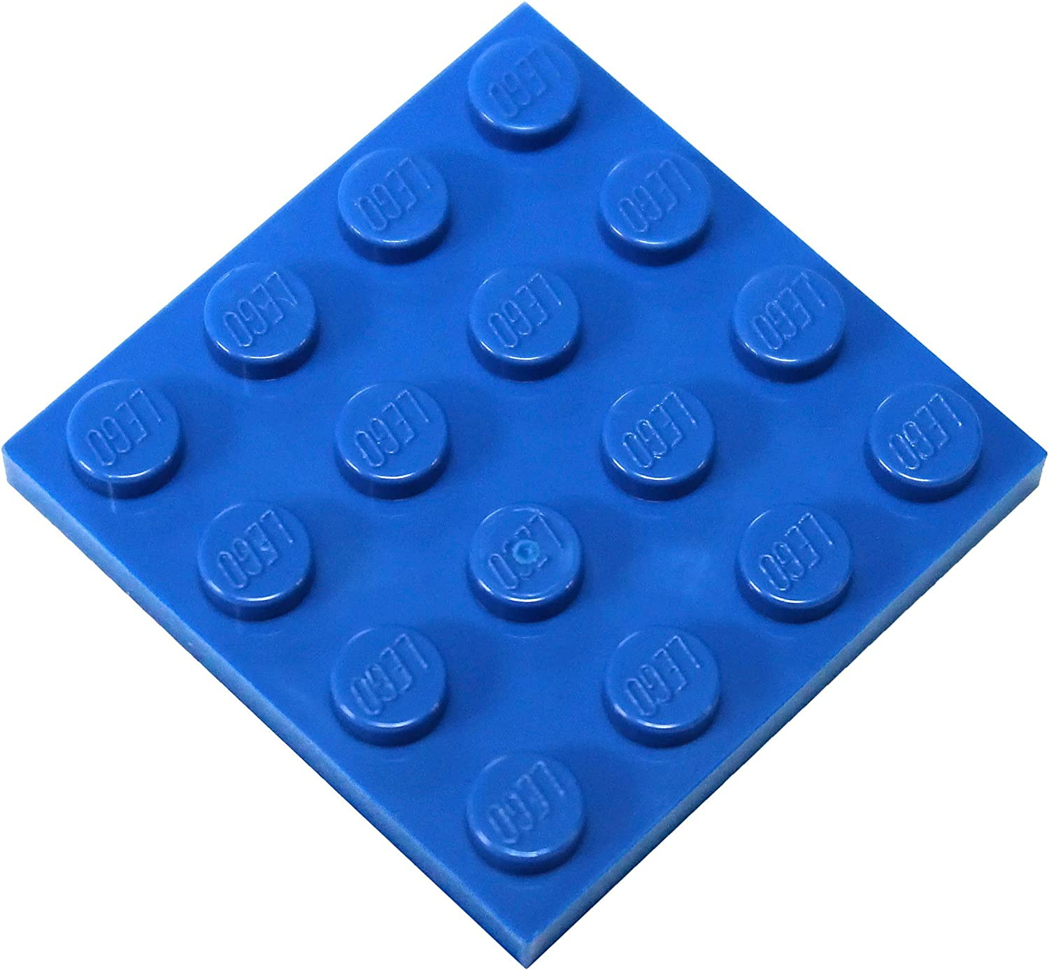 LEGO Parts and Pieces: Blue (Bright Blue) 4x4 Plate x20