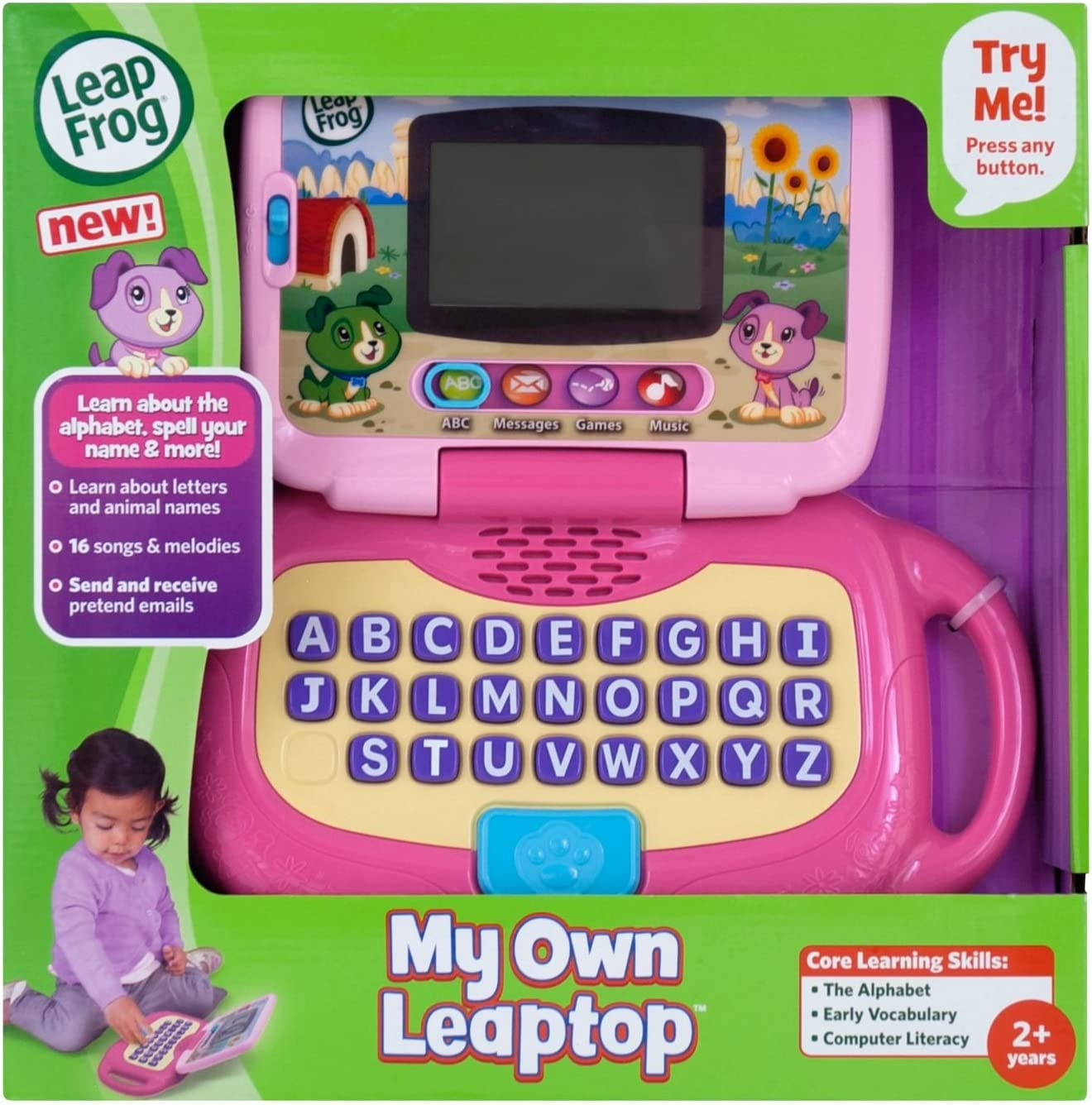 LeapFrog Mein eigener Leaptop Pink (englische Sprache) Rose