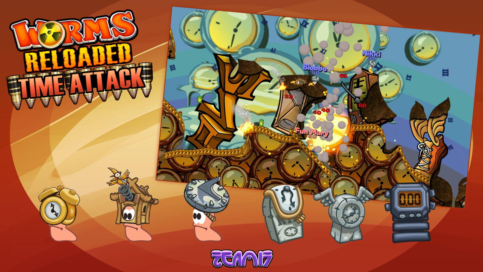 Worms Reloaded Free Online