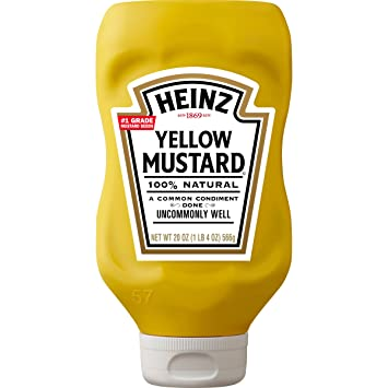 03e49fc7a10f Amazon.com   Heinz Yellow Mustard