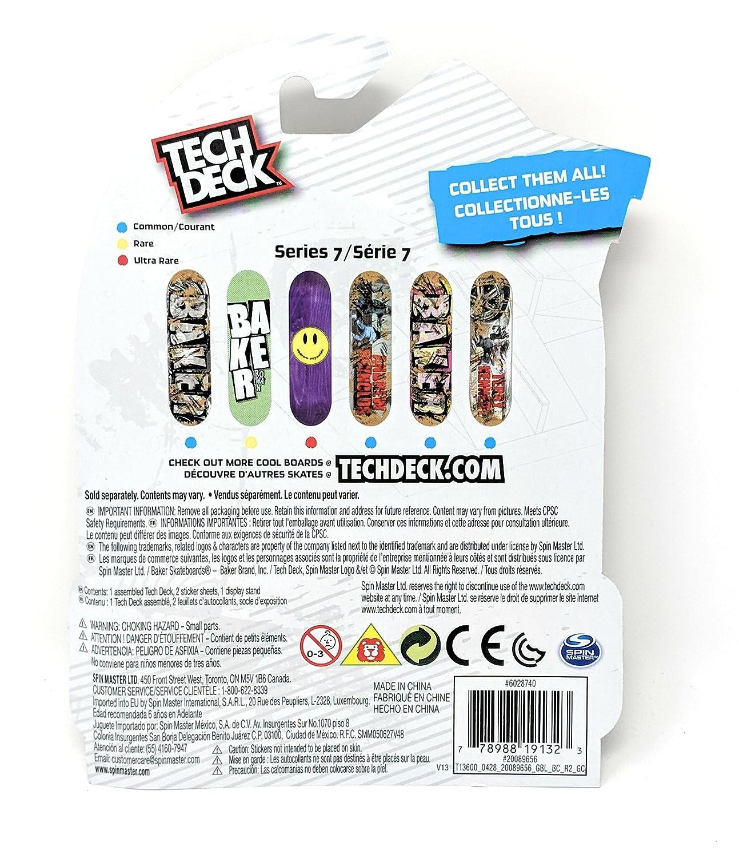 Tech Deck BAKER SKATEBOARDS Series 7 Terry Kennedy Fingerboard Mini Toy Skate Board SpinMaster