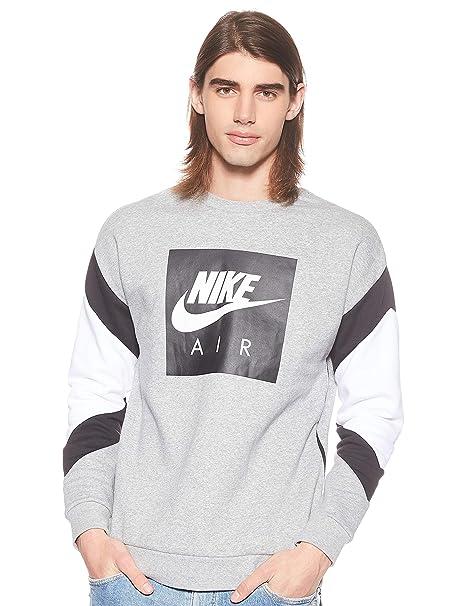 Nike M NSW Air Crew FLC Camiseta de Manga Larga Hombre