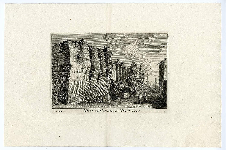 Vasi A Muro.Amazon Com Theprintscollector Antique Print Muro Torto