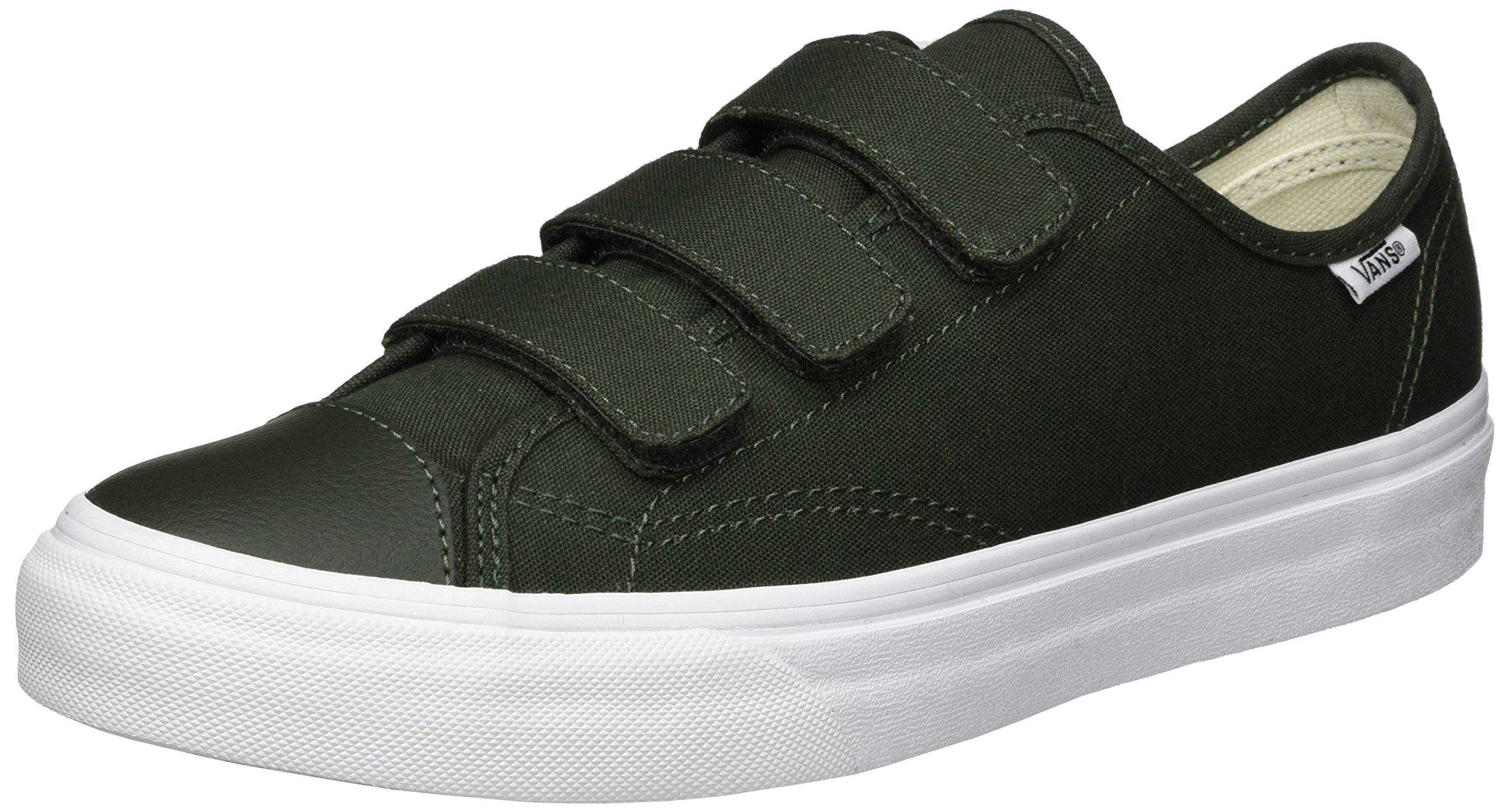 Vans Unisex Style 23 V Green Canvas Skate Shoe 10