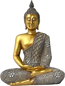 Sitting Buddha Statue for Home - 13