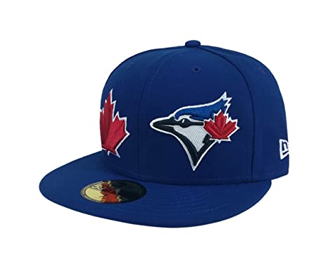 reputable site 0f2a3 0808e New Era 59Fifty Hat MLB Toronto Blue Jays Heritage Patch d Up Royal Blue Cap
