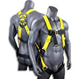 KwikSafety (Charlotte, NC) TORNADO 1D Fall Protection Full Body Safety Harness | OSHA