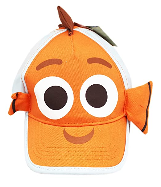 4d9020dc05e71 Image Unavailable. Image not available for. Color  Finding Dory Nemo Dorsal  and Side Fins Kids Elastic Fit Hat