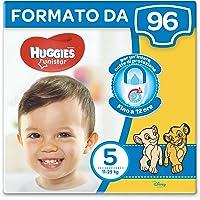 Huggies Unistar Pannolini, Taglia 5 (11-19 kg), 6 Confezioni da 16 [96 Pannolini]