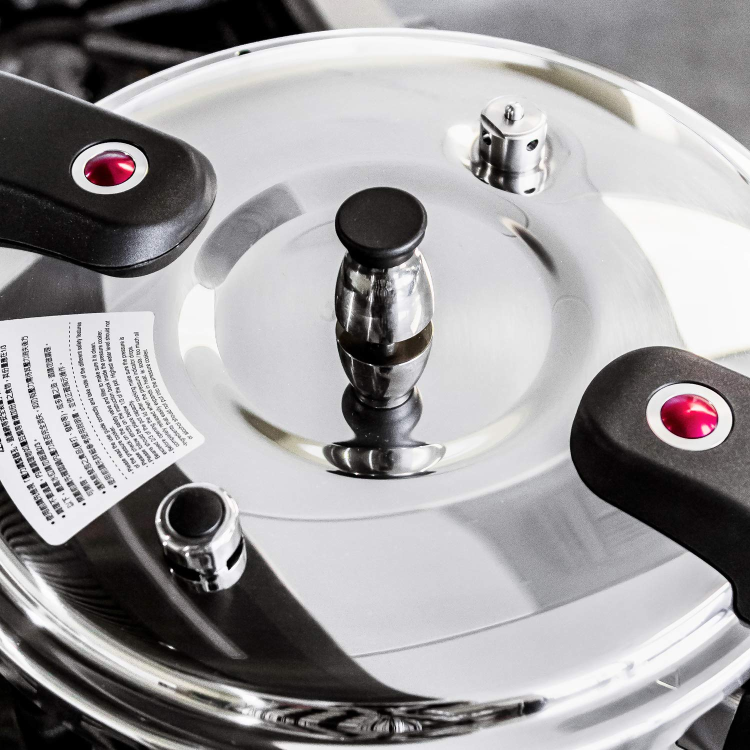 Buffalo QCP415 15-Quart Stainless Steel Pressure Cooker [Classic series] by Buffalo (Image #3)