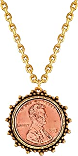 product image for Luca + Danni Lucky Penny Necklace for Women Made in USA