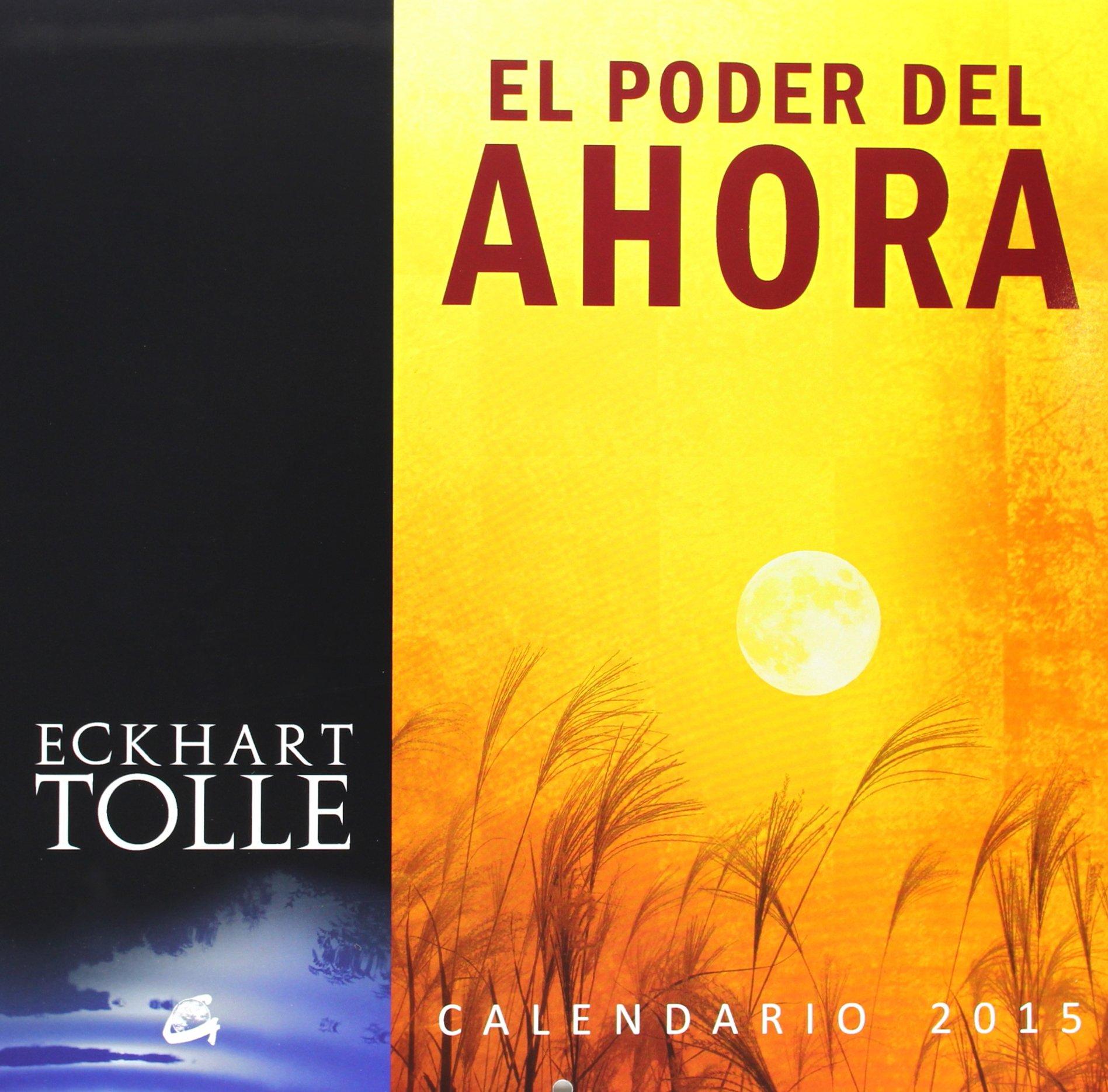 El Poder Del Ahora. Calendario 2015: Amazon.es: Eckhart Tolle, Equipo  editorial Alfaomega: Libros