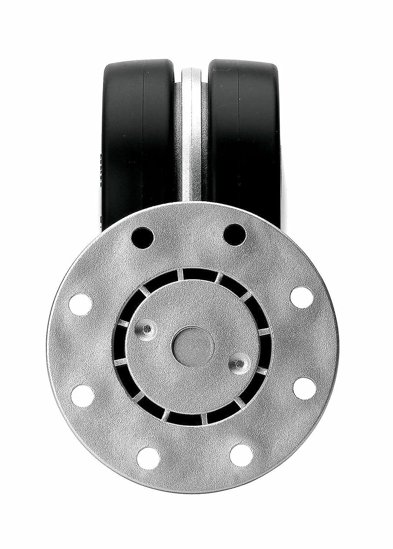 Richelieu Hardware 2310050145 Dual-Wheel Design Caster Aluminum