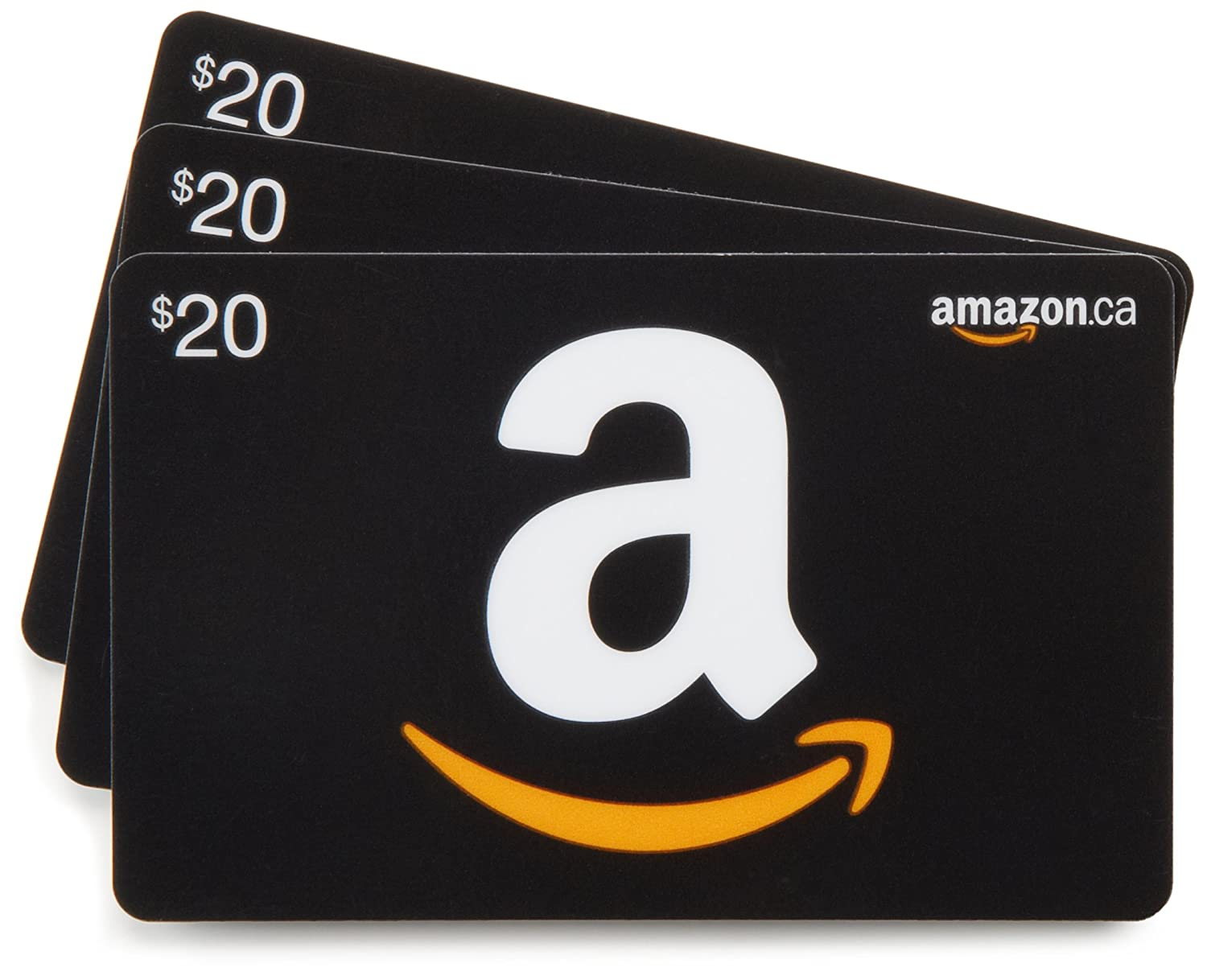 Amazon.ca Gift Cards, Pack of 3 (Various Card Designs) Amazon.ca $10 Gift Cards Amazon.com.ca Inc.