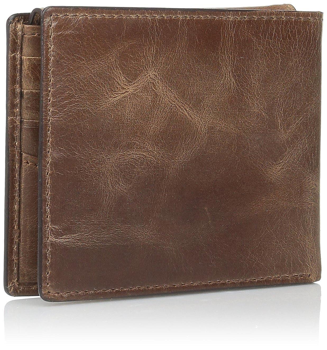 Fossil mens Rfid Derrick Passcase Credit Card Holder