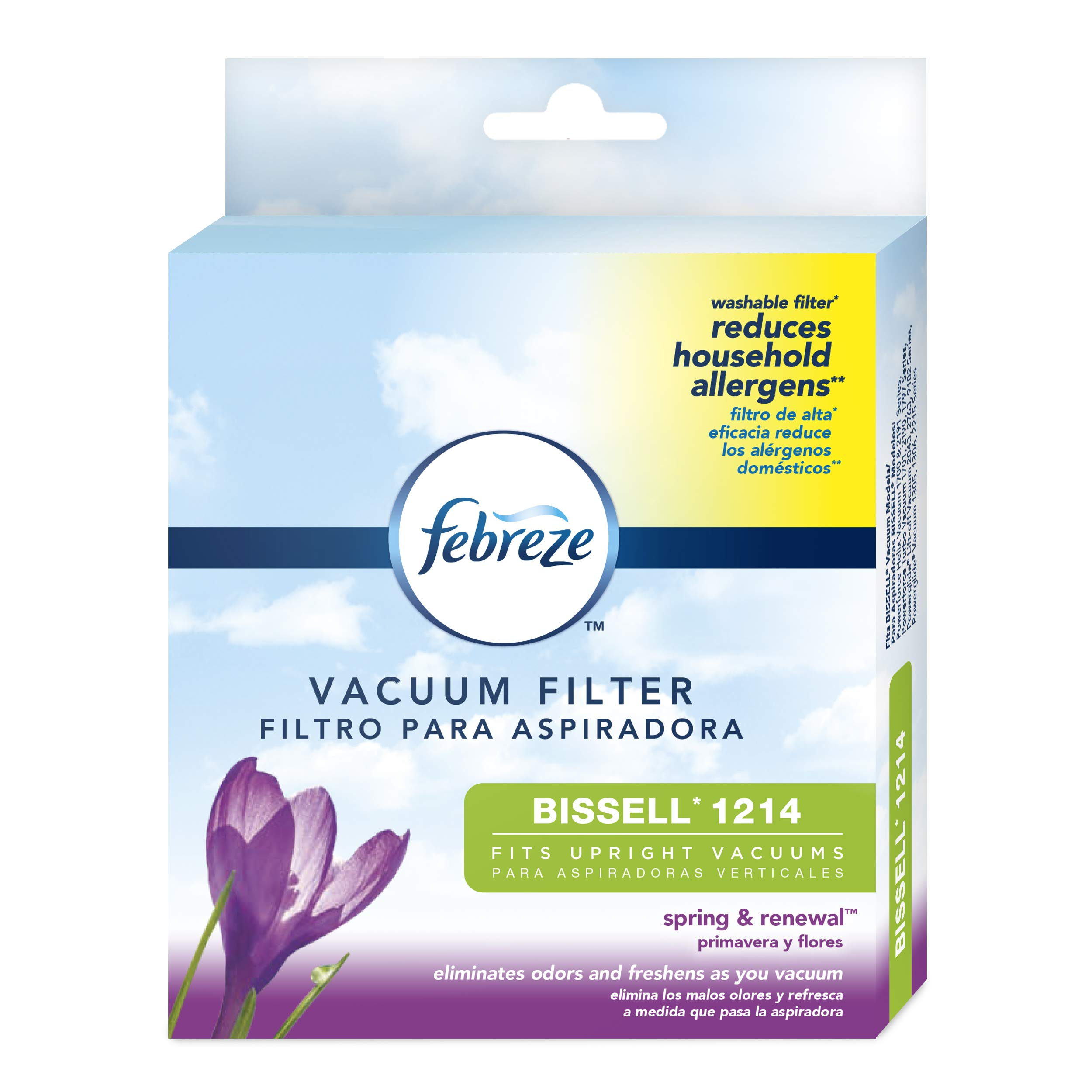 BISSELL Febreze Style 1214 Cleanview & PowerGlide Pet Replacement Filter – 12141