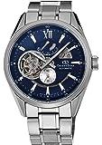 [オリエント]ORIENT 腕時計 ORIENTSTAR オリエントスター モダンスケルトン 機械式 自動巻き (手巻き付き)  ネイビー WZ0191DK メンズ