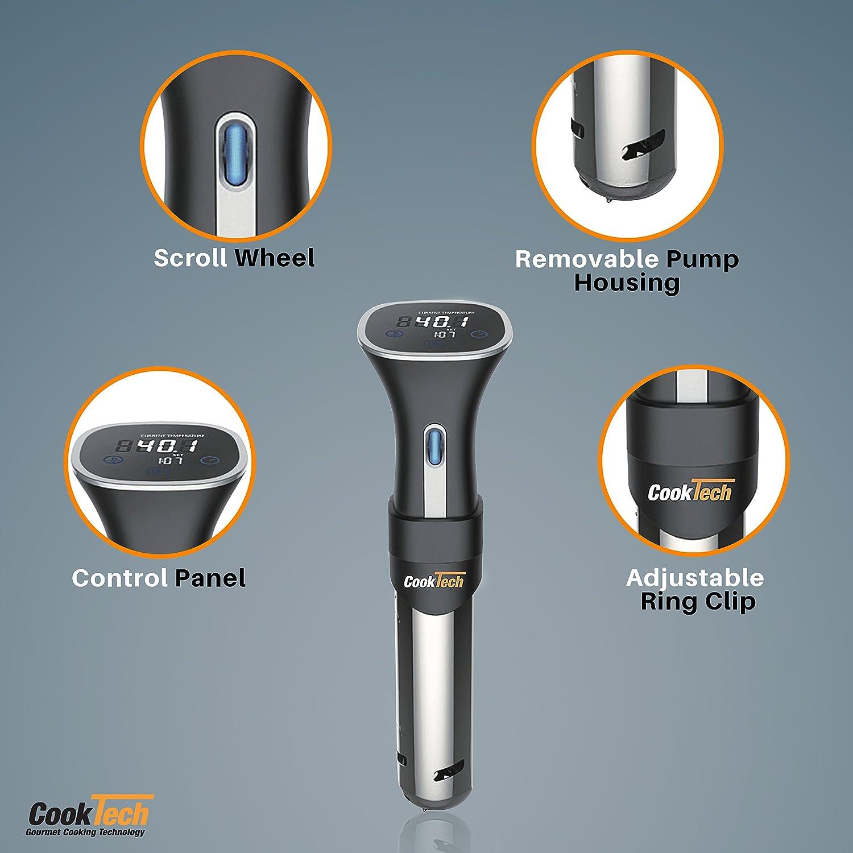 Amazon.com: CookTech Sous Vide Digital Circulator Cooking Machine ...