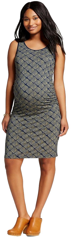 120aa33bca212 Liz Lange Women's Maternity Print Tank Dress at Amazon Women's Clothing  store: