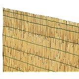 VERDELOOK Arella Cina in cannette bamboo pelato dimensioni 1.5x5 recinzioni decorazioni