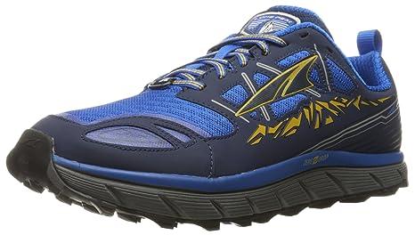 Altra - Zapatillas de correr para hombre, color rojo o negro, talla 40