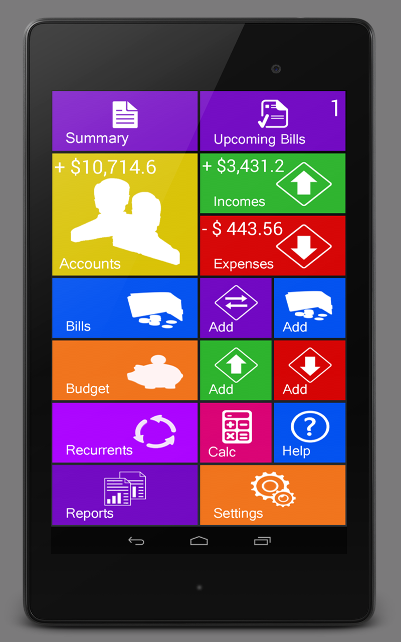 Amazon.com: Home Budget Manager: Appstore for Android