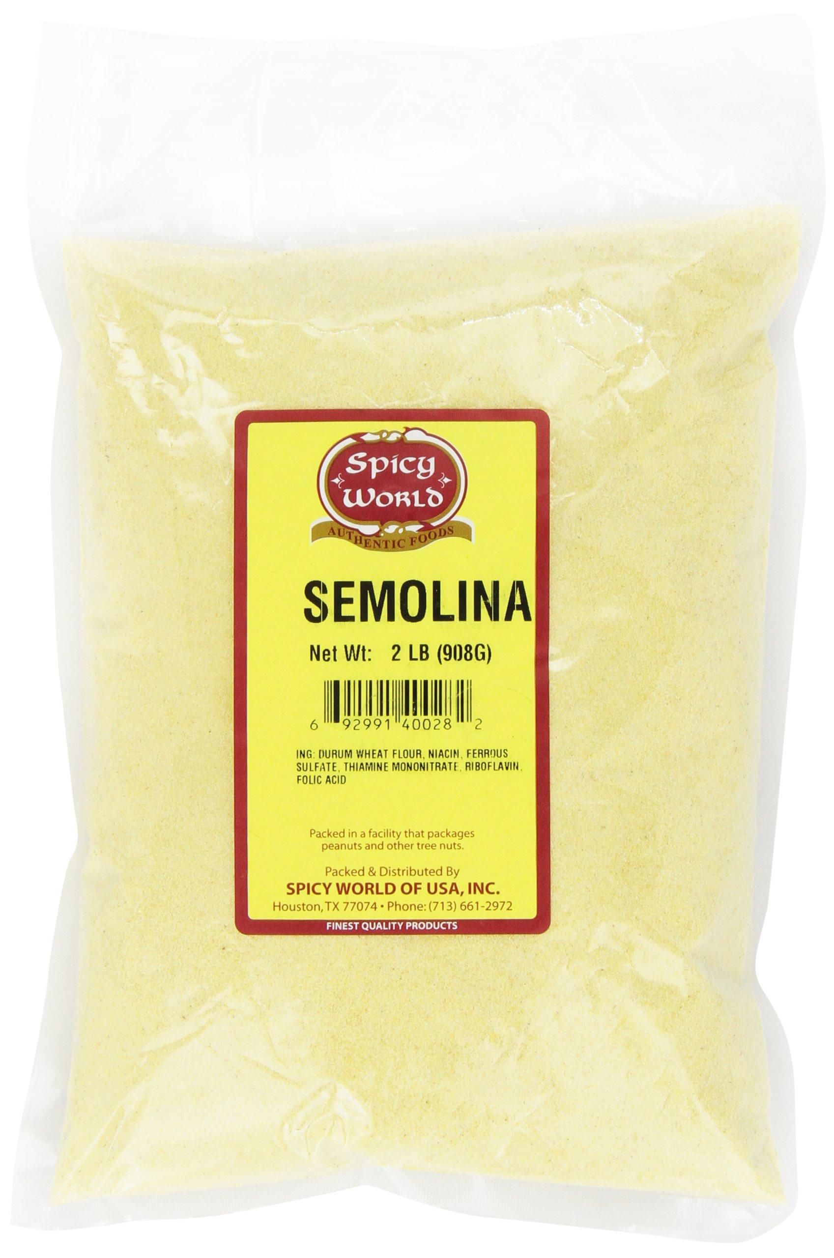 Spicy World Semolina, 2 Pound Bag