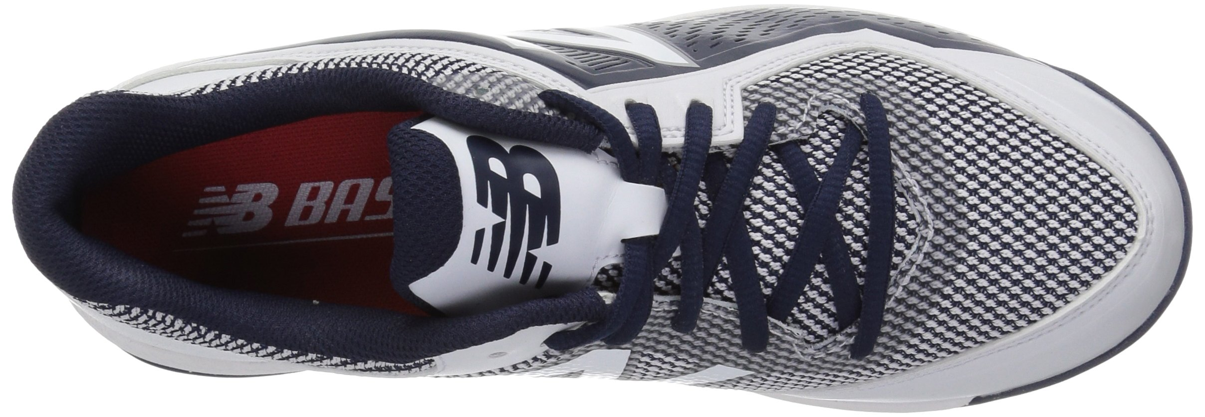 New Balance Boys' 4040v4, Navy/White, 1 W US Little Kid by New Balance (Image #8)