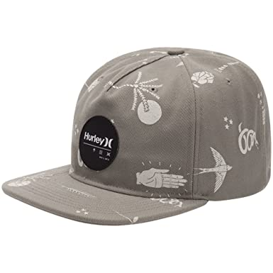 a3159ba9407524 Hurley Men's Port Cruiser Hat, Hyper Verde/Dark Obsidian/Treasure  Blue/Treasure