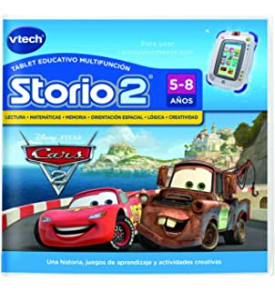 Vtech Spanish - Vtech Storio 2 Cars 2 - Juego en Español