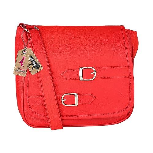 Ritupal Collection Women s Shoulder   Sling bag Red  Amazon.in  Shoes    Handbags b6562d6374e31