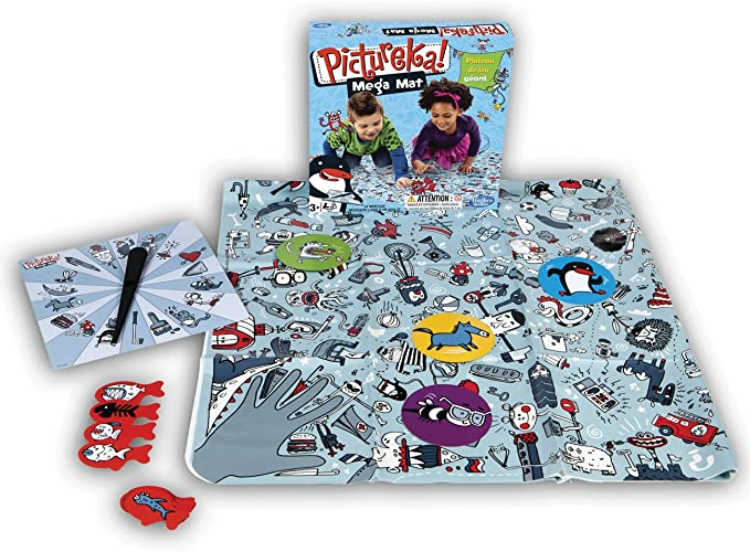 Hasbro A08871010 Pictureka Mega Mat - Juego de Mesa: Amazon.es: Juguetes y juegos