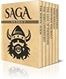 Saga Six Pack 2 - Poetic Edda, The Nibelungenlied, Saga of Thorstein, Fridthjof the Bold, Ingolf's Saga and King Harald's Saga (Illustrated) (English Edition)