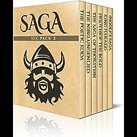 Saga Six Pack 2 - Poetic Edda, The Nibelungenlied, Saga of Thorstein, Fridthjof the Bold, Ingolf's Saga and King Harald…