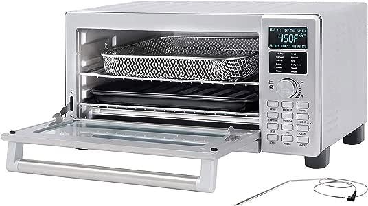 calmdo air fryer oven combo 127 quarts