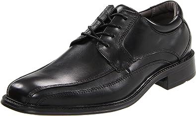 Dockers Men's Endow Leather Oxford Dress Shoe,black, 8.5 W US