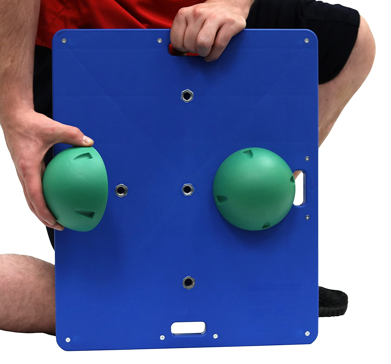 CanDo Balance Board 15x18 Inch, 2 Inch Height, Green: Health & Personal Care