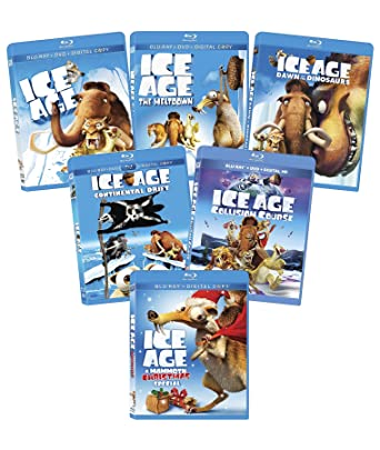Amazon.com: Ice Age 1-5 + a Mammoth Christmas Special Bundle [Blu ...