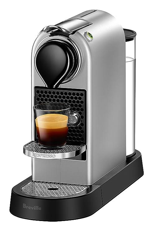 Breville-Nespresso USA BEC620SIL1AUC1 CitiZ Espresso Machine, Silver