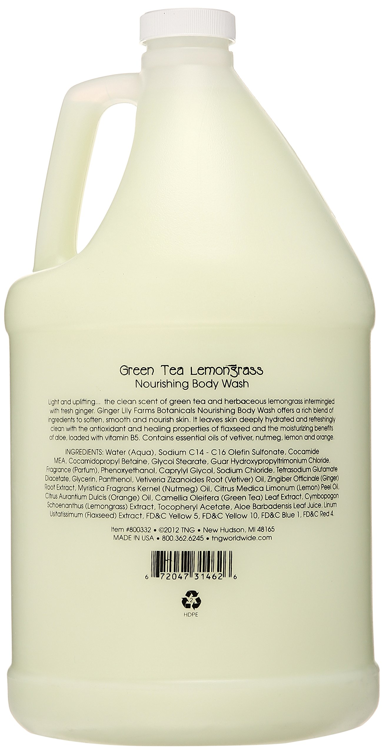Ginger Lily Farms Botanicals Island Tranquility Body Wash Gallon