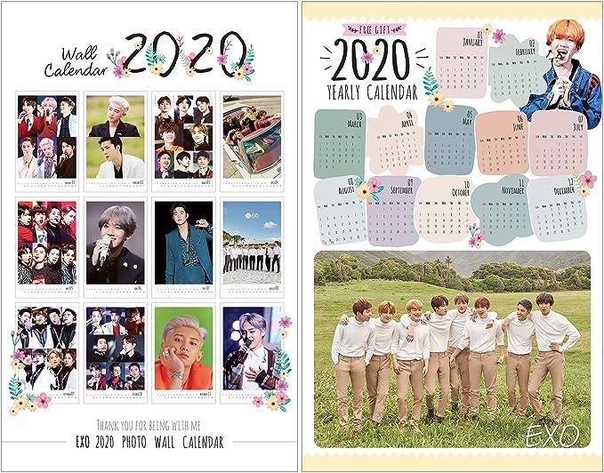 Calendario Exo 2020.